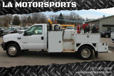 2003 Ford F-550 Super Duty for sale at LA MOTORSPORTS in Windom MN