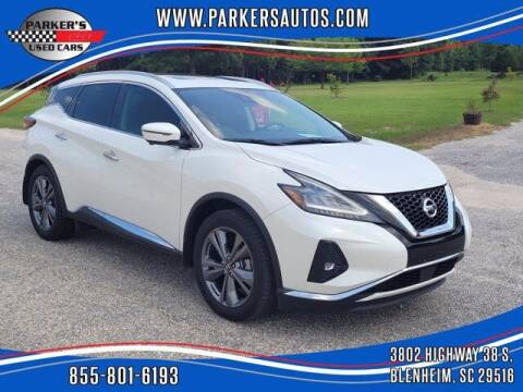 2019 Nissan Murano for sale at Parker's Used Cars in Blenheim SC