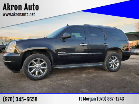 2011 GMC Yukon for sale at Akron Auto in Akron CO