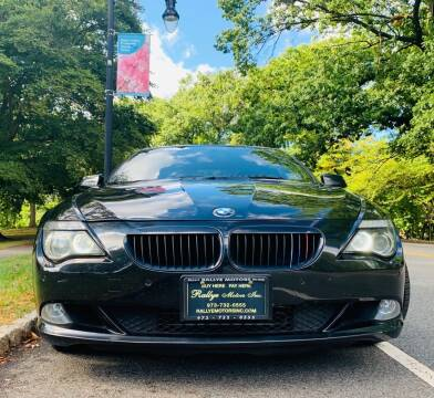 2010 BMW 6 Series for sale at Rallye  Motors inc. in Newark NJ