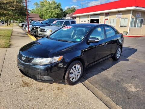2010 Kia Forte for sale at THE PATRIOT AUTO GROUP LLC in Elkhart IN