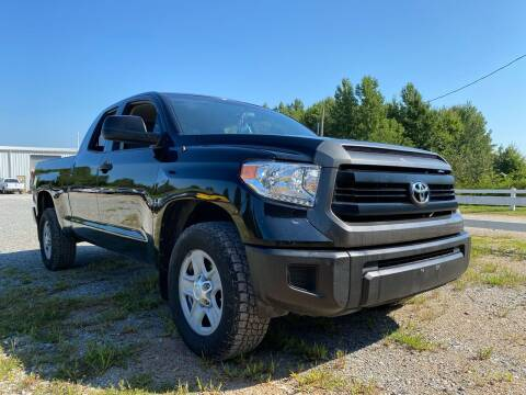 2014 Toyota Tundra for sale at Tennessee Valley Wholesale Autos LLC in Huntsville AL