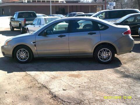 2008 Ford Focus for sale at D & D Auto Sales in Topeka KS