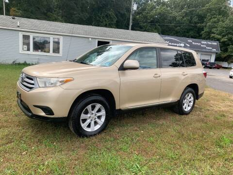 2011 Toyota Highlander for sale at Manny's Auto Sales in Winslow NJ