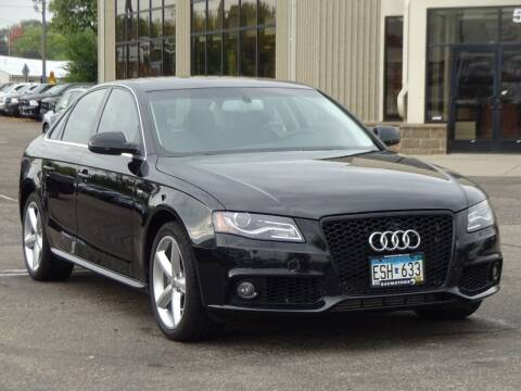 2012 Audi A4 for sale at RAVMOTORS 2 in Crystal MN