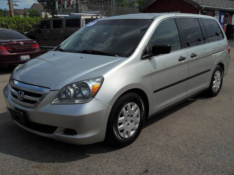 2007 Honda Odyssey for sale at GLOBAL AUTOMOTIVE in Grayslake IL