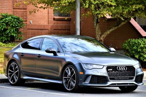 2016 Audi RS 7 for sale at SEATTLE FINEST MOTORS in Lynnwood WA