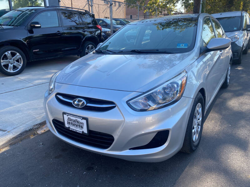 2015 Hyundai Accent for sale at DEALS ON WHEELS in Newark NJ