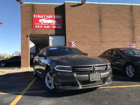 2016 Dodge Charger for sale at Hobart Auto Sales in Hobart IN