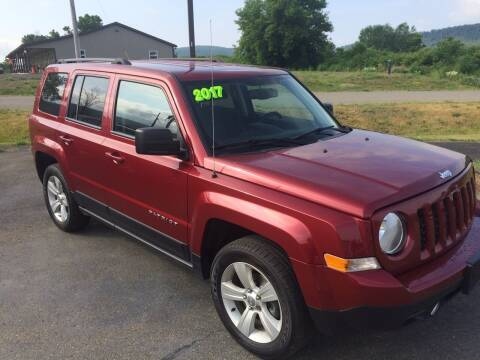 2017 Jeep Patriot for sale at Hillside Motors in Campbell NY