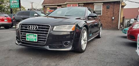 2017 Audi A8 L for sale at Kar Connection in Little Ferry NJ