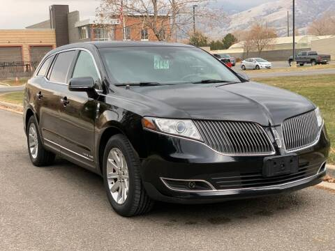 2016 Lincoln MKT Town Car for sale at A.I. Monroe Auto Sales in Bountiful UT