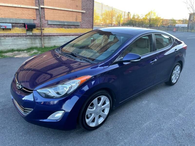 2013 Hyundai Elantra for sale at Tony Luis Auto Sales & SVC in Cumberland RI