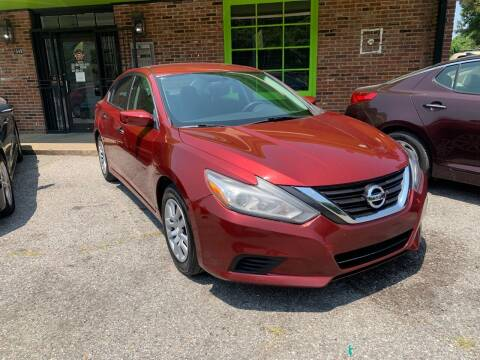 2016 Nissan Altima for sale at Super Wheels-N-Deals in Memphis TN