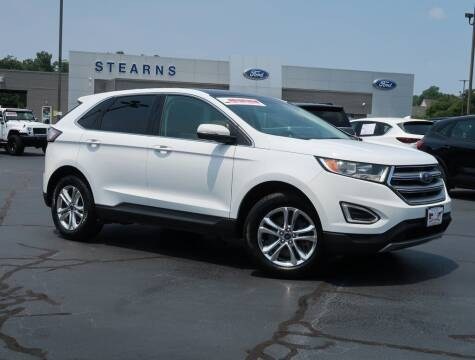 2016 Ford Edge for sale at Stearns Ford in Burlington NC