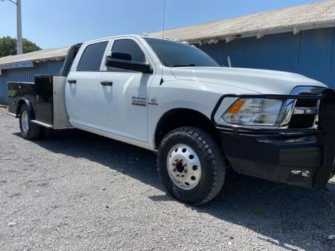 2018 RAM Ram Chassis 3500 for sale at K & B Motors LLC in Mc Queeney TX