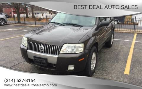 2007 Mercury Mariner for sale at Best Deal Auto Sales in Saint Charles MO