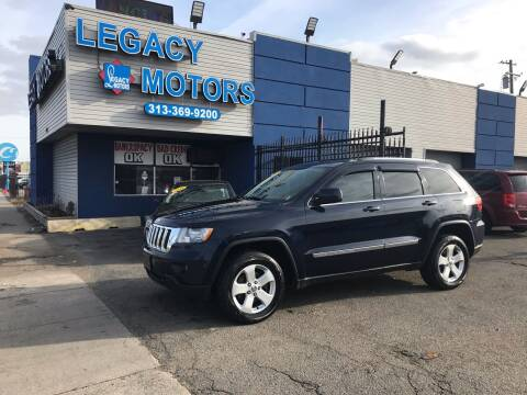 2012 Jeep Grand Cherokee for sale at Legacy Motors in Detroit MI