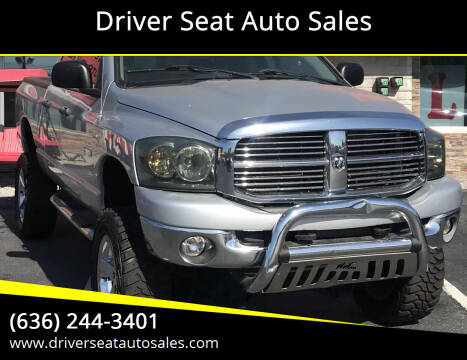 2008 Dodge Ram Pickup 1500 for sale at Driver Seat Auto Sales in St. Charles MO