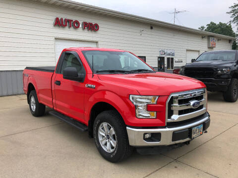 2016 Ford F-150 for sale at AUTO PRO in Brookings SD
