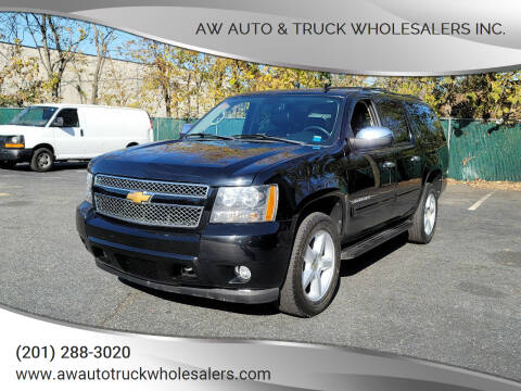 2012 Chevrolet Suburban for sale at AW Auto & Truck Wholesalers  Inc. in Hasbrouck Heights NJ