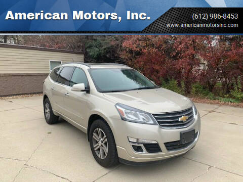 2015 Chevrolet Traverse for sale at American Motors, Inc. in Farmington MN