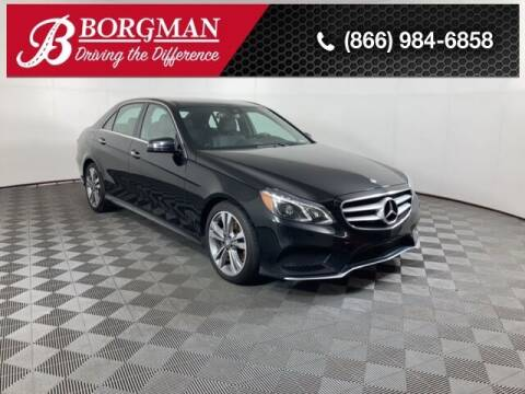 2016 Mercedes-Benz E-Class for sale at BORGMAN OF HOLLAND LLC in Holland MI