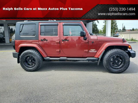2009 Jeep Wrangler Unlimited for sale at Ralph Sells Cars at Maxx Autos Plus Tacoma in Tacoma WA