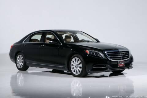 2015 Mercedes-Benz S-Class for sale at Motorcar Classics in Farmingdale NY