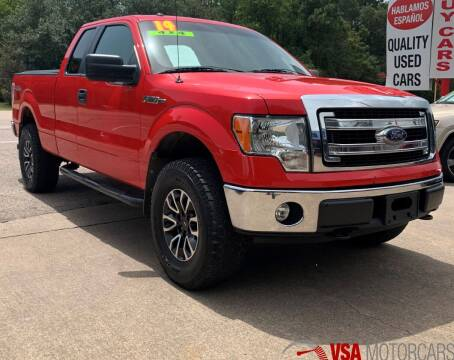 2014 Ford F-150 for sale at VSA MotorCars in Cypress TX