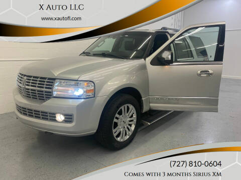 2010 Lincoln Navigator for sale at X Auto LLC in Pinellas Park FL