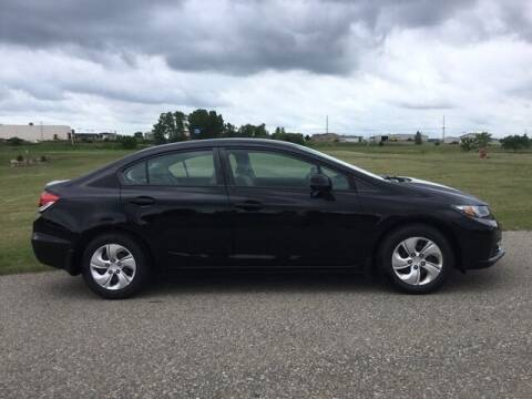 2013 Honda Civic for sale at JENSEN FORD LINCOLN MERCURY in Marshalltown IA