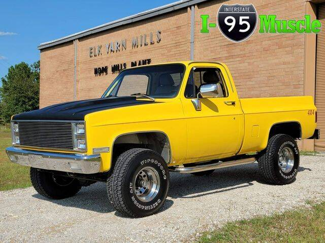 1983 Chevrolet C/K 10 Series for sale at I-95 Muscle in Hope Mills NC