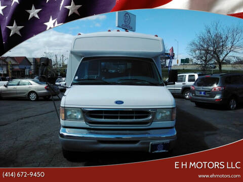 1997 Ford E-Series Chassis for sale at E H Motors LLC in Milwaukee WI