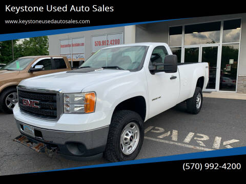 2013 GMC Sierra 2500HD for sale at Keystone Used Auto Sales in Brodheadsville PA