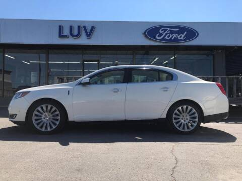 2013 Lincoln MKS for sale at Luv Motor Company in Roland OK