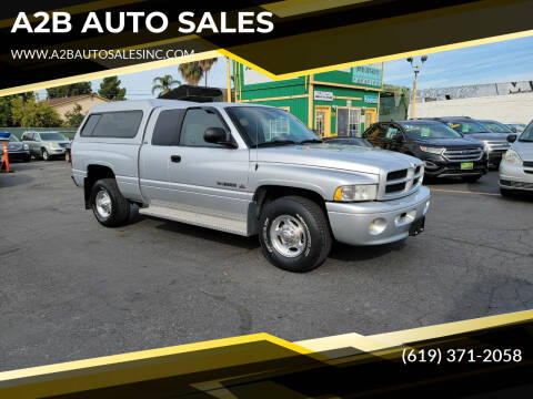 2002 Dodge Ram Pickup 2500 for sale at A2B AUTO SALES in Chula Vista CA