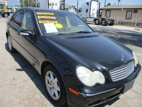 2004 Mercedes-Benz C-Class for sale at F & A Car Sales Inc in Ontario CA
