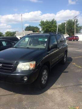 2006 Toyota Highlander for sale at Mike Hunter Auto Sales in Terre Haute IN