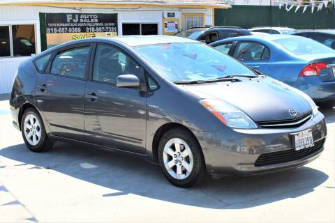 2008 Toyota Prius for sale at FJ Auto Sales in North Hollywood CA