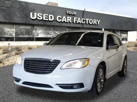 2012 Chrysler 200 for sale at JOELSCARZ.COM in Flushing MI