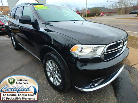 2018 Dodge Durango for sale at Jon's Auto in Marquette MI