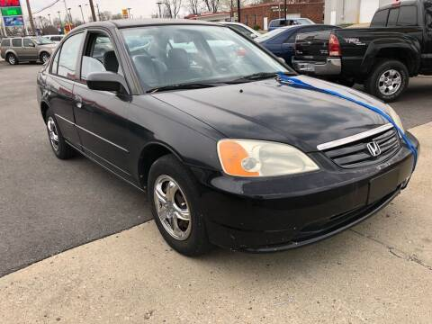 2001 Honda Civic for sale at Wise Investments Auto Sales in Sellersburg IN