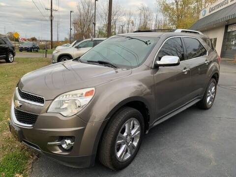 2012 Chevrolet Equinox for sale at Lighthouse Auto Sales in Holland MI