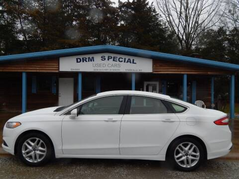 2014 Ford Fusion for sale at DRM Special Used Cars in Starkville MS