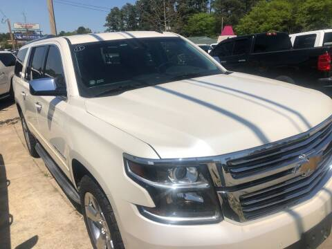 2015 Chevrolet Suburban for sale at A & K Auto Sales in Mauldin SC
