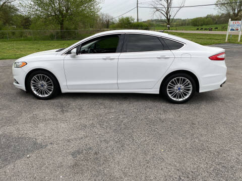 2013 Ford Fusion for sale at K & P Used Cars, Inc. in Philadelphia TN