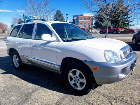2004 Hyundai Santa Fe for sale at J & M PRECISION AUTOMOTIVE, INC in Fort Collins CO