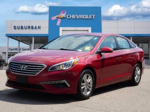 2015 Hyundai Sonata for sale at Suburban Chevrolet of Ann Arbor in Ann Arbor MI