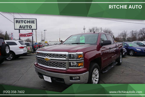 2014 Chevrolet Silverado 1500 for sale at Ritchie Auto in Appleton WI